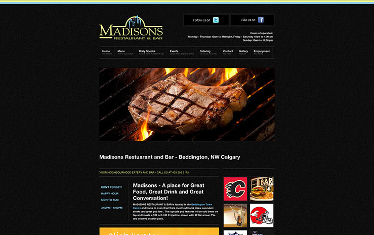 Madisons Restaurant and Bar