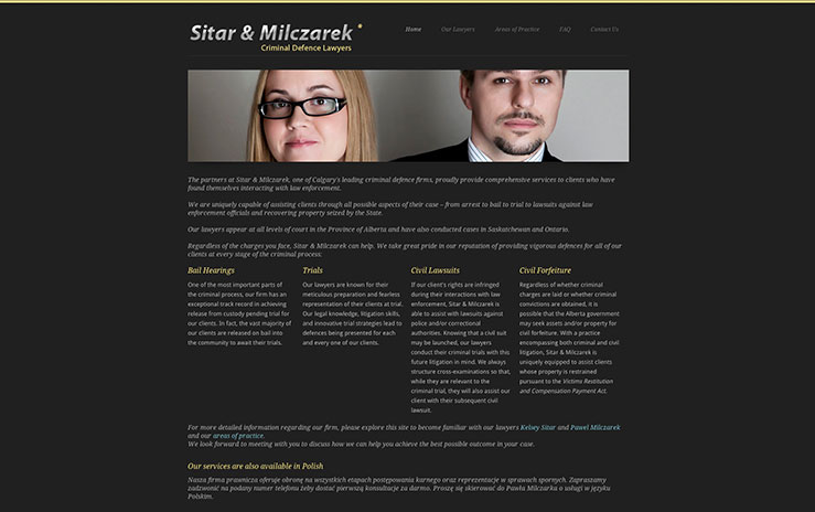 Sitar and Milczarek - Criminal Defence lawyers